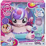 My Little Pony Интерактивная пони-принцесса малышка Флари Харт испанский язык B5365 Baby Flurry Heart Pony, фото 2