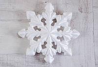 Набор пенопластовых фигурок Santi Снежинка 215mm код: 740640