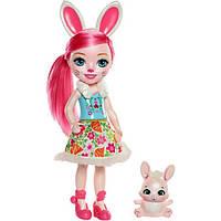 Enchantimals Зайка Бри и питомец Твист FRH52 Huggable Cuties Bree Bunny Doll & Twist Figure