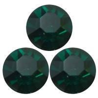 Стразы DMCss30 Emerald (6,4-6,6мм)горячей фиксации. 200шт.