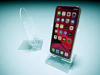 Подставка под мобильный телефон, 60х120х60 мм (Толщина акрила : 1,8 мм; )