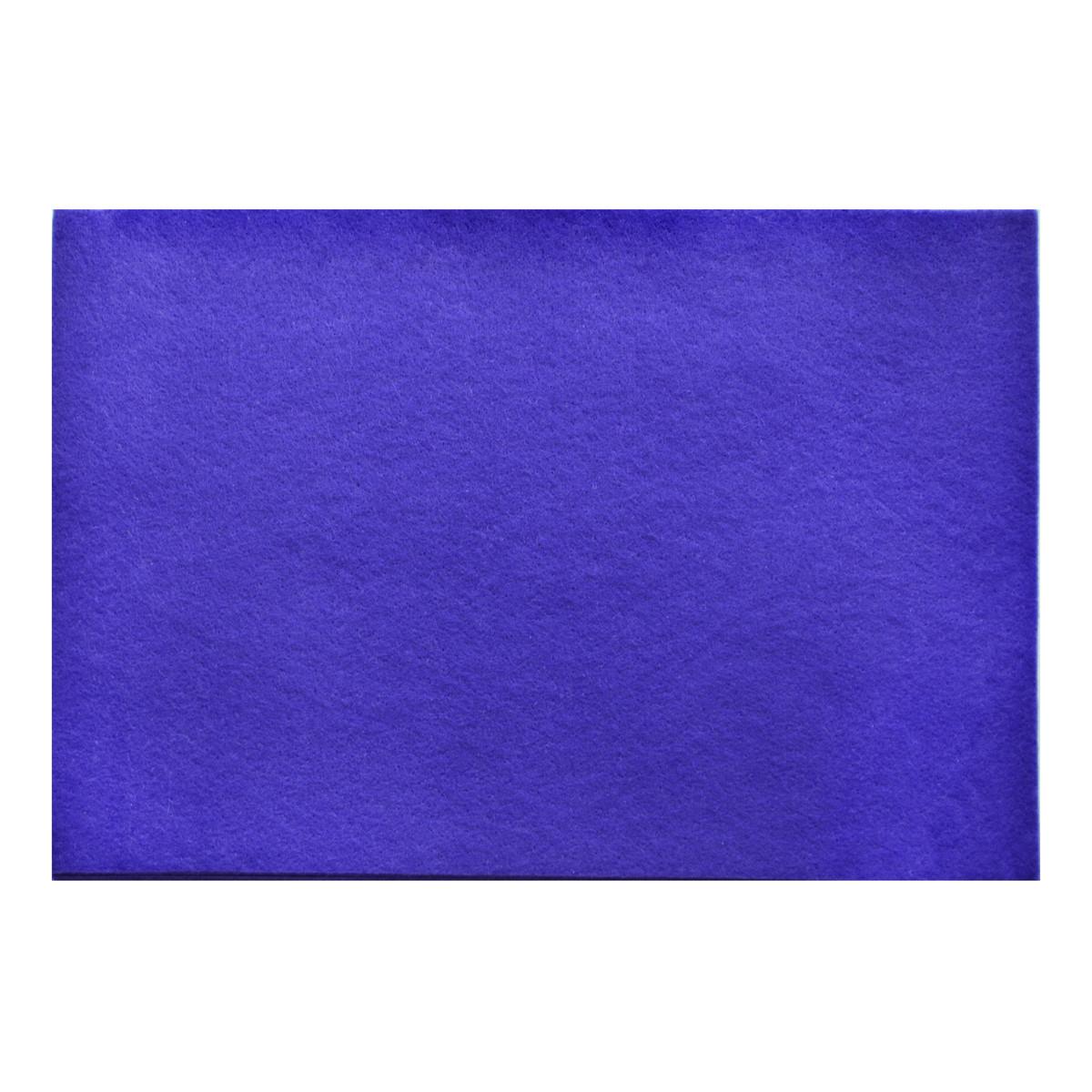 Набор Фетр Santi мягкий, темно-фиолетовый, 21*30см (10л) код: 741864