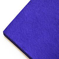 Набор Фетр Santi мягкий, темно-фиолетовый, 21*30см (10л) код: 741864, фото 2