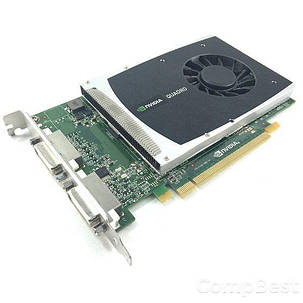 Дискретная видеокарта nVidia Quadro 2000 1024MB GDDR5 (128bit) (DVI, 2x DisplayPort), фото 2