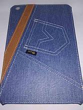 Уникальный чехол книжка для Apple ipad mini 1 2 3 джинс синий