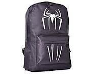 Рюкзак Hero Iron man С светящимся рисунком Водонепроницаемый Паук