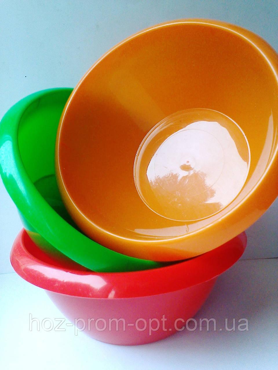Миска 1.0 л, пищевой пластик.