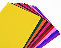 Наб.№17 цв.бумаги мелованной самоклеящейся А4(10л), в ящ. мiх: 2 диза код: 950540, фото 6