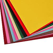 Наб.№13 цв.бумаги бархат. самоклеящейся А4(10л), в ящ. мiх: 2 дизайна код: 950542, фото 2