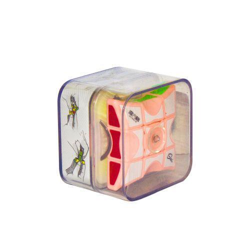"Кубик Рубика ""Спиннер"" (розовый) MO FANG GE 1х3х3 ( TC102963)"