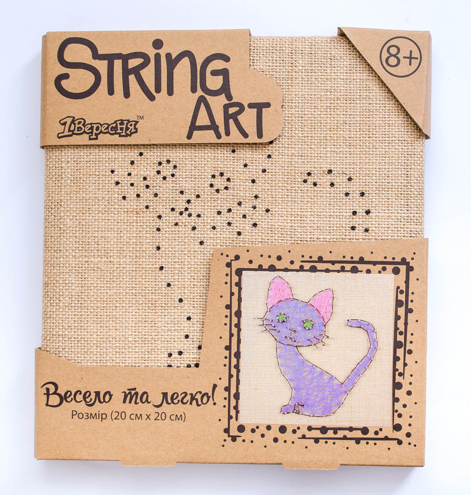 Набор для творчества Стринг-арт Кот код: 952909