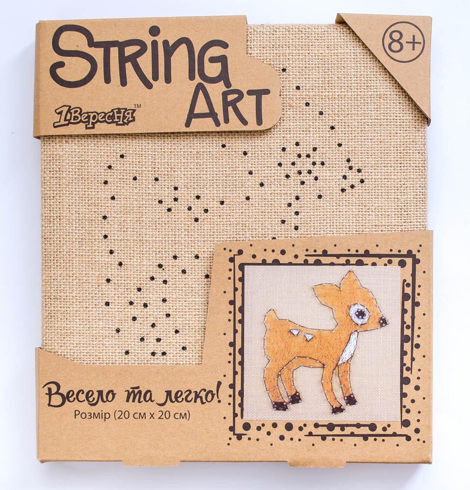 Набор для творчества Стринг-арт Оленёнок код: 952913