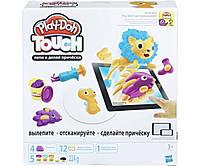 """Hasbro Play-Doh PLAYSETS Інтерактивний набір із пластиліном «Створи світ: Зачіски"""" Плей Дох B9018"""
