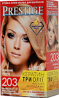 """Крем-краска для волос Vip's Prestige """"203 Бежевый блонд"""""""