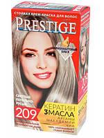 """Крем-краска для волос Vip's Prestige """"209 Светлый пепельно-русый"""""""