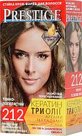 """Крем-краска для волос Vip's Prestige """"212 Темно-пепельный"""""""
