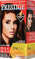 "Крем-краска для волос Vip's Prestige ""231 Каштановый"""