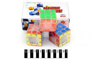 Кубик Рубика 3 х 3 х 3 (с прозрачной основой) 7Toys YJ0703C ( TC57283)