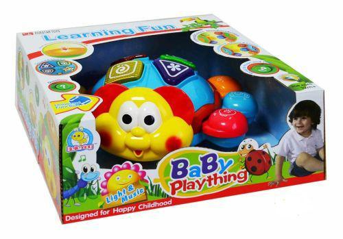 """Каталка музыкальная """"Жучок"""" (на английском и испанском) Fivestar Toys 34666 ( TC59431)"""