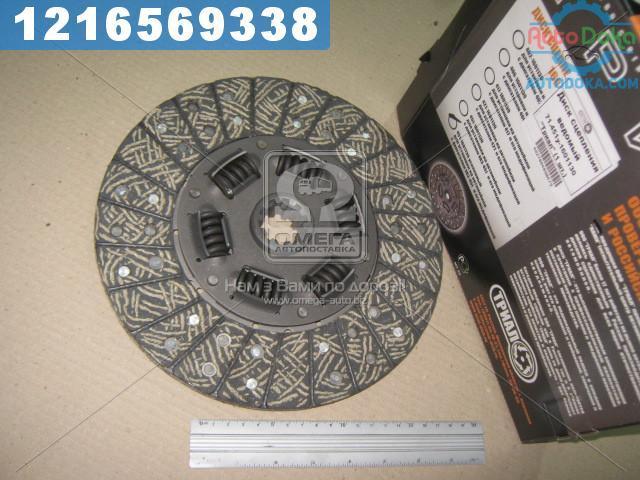 Диск сцепления ведомый УАЗ 451 усиленный (производство  ТРИАЛ)  451у-1601130
