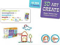 "3D конструктор ""Волшебная палочка"", 43 детали 7Toys BG001 ( TC57803)"