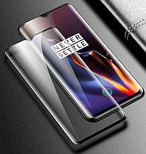 Защитное стекло (6D) для Oneplus 6T Black черный
