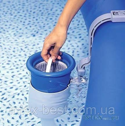 Скиммер  для бассейнов INTEX 58949. Скиммер — устройство для сбора мусора с поверхности воды., фото 2
