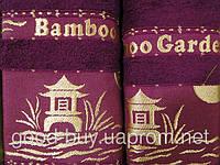 Комплект полотенец DNZ garden бамбук - лицо + баня Турция v18 -2
