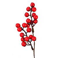 Ветка Yes! Fun с красными ягодами, 24 см код: 973526, фото 2