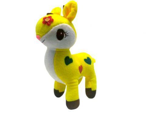 """Мягкая игрушка """"Лама"""" (жёлтая) 1437 Yi Wan (TC112155)"""