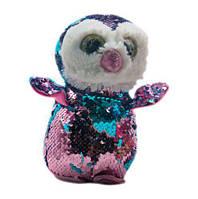 "Мягкая игрушка с пайетками ""Пингвин"" (розово-синий) PL1904 7Toys (TC109076)"
