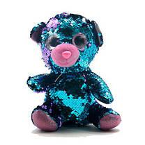 """Мягкая игрушка с пайетками """"Мишка"""" 7Toys PL1904 ( TC109075)"""