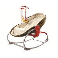 Универсальное кресло-кроватка-качалка 3 в 1 Мамина любовь, Tiny Love (коричневое)