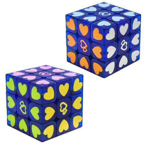 """Неоновый Кубик Рубика """"Сердечки"""" 3 х 3 7Toys FX7830 ( TC113314)"""