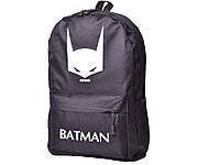 Рюкзак Hero Iron man з люмінесцентним малюнком Водонепроникний Бэтмен