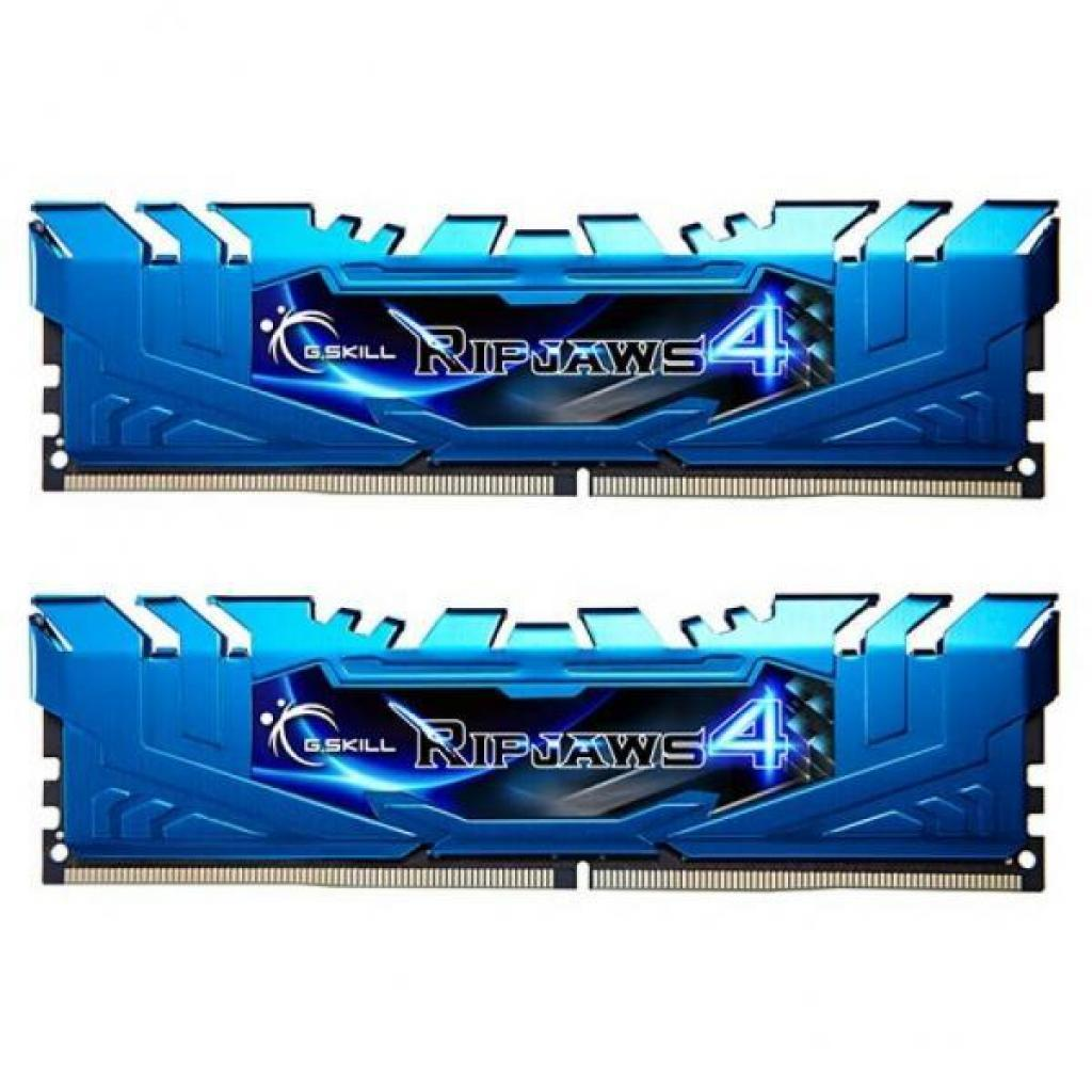 Модуль памяти для компьютера DDR4 16GB (2x8GB) 3000 MHz Ripjaws4 G.Skill (F4-3000C15D-16GRBB)