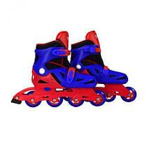"""Ролики раздвижные """"Extreme Sport"""" 37-40 размер (красно-синие) YW0354L 7Toys (TC110760)"""