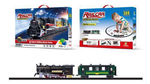 Железная дорога с конструктором (210 деталей) FenFa 1608-2 ( TC54169)