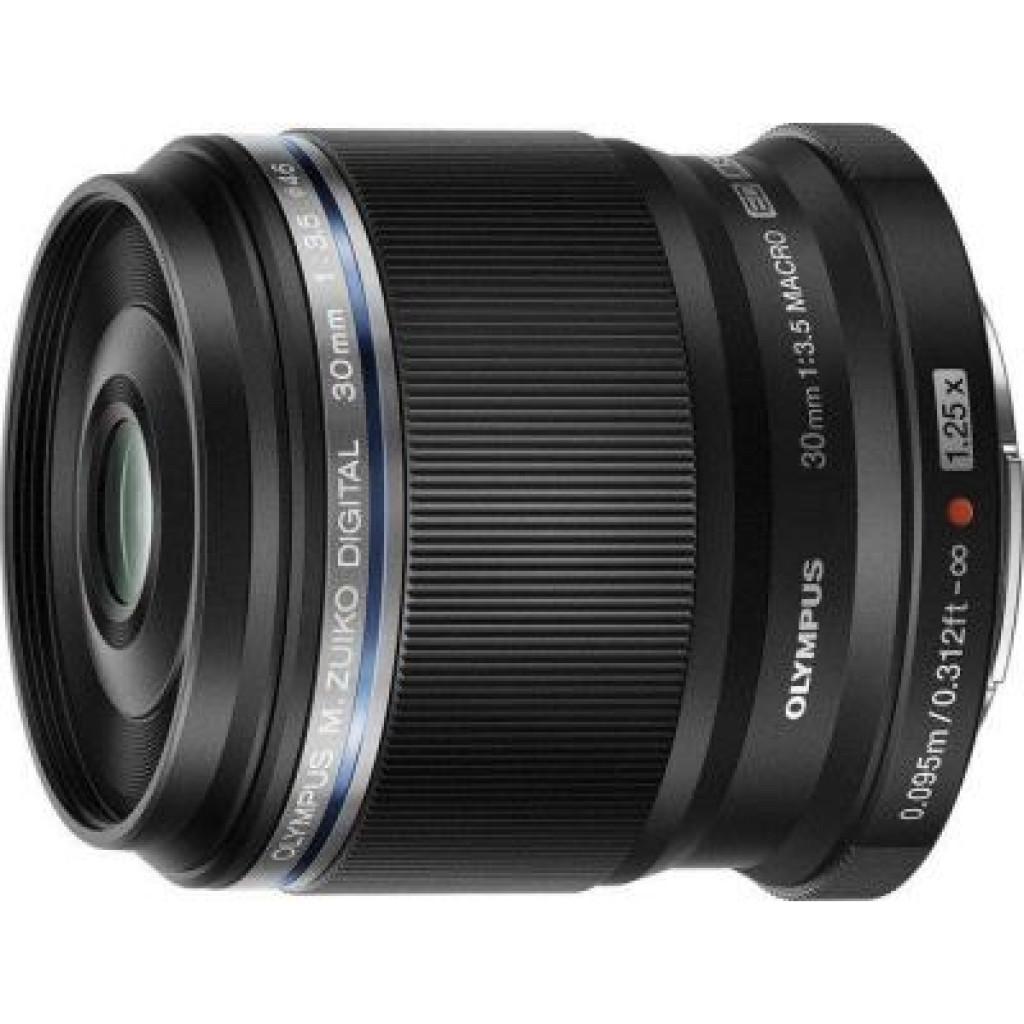 Объектив OLYMPUS ED 30mm 1:3.5 Macro Black (V312040BW000)