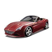 Машина Bburago Ferrari California T бордо 1:24 (18-26002_bordo)