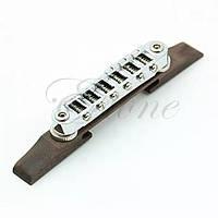 Струнотримач бридж для акустичної гітари напівакустики напівакустичною