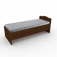 Кровать 80 Компанит Орех экко new1-155, КОД: 996036
