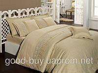 Комплект постельного белья - First choice Vip бамбук BVip-03 Elegance Camel-1