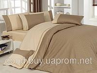 Комплект постельного белья - First choice Vip сатин жаккард SVip 27 Prestige Cappuccino