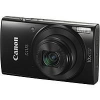 Цифровой фотоаппарат Canon IXUS 190 Black (1794C009), фото 1