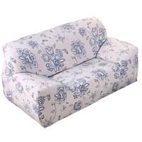 Чехол на диван натяжной 2х 3х местный Stenson R26303 145-185 см Белый 008822, КОД: 1049927
