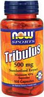 Трибулус экстракт / Tribulus Standardized extract, 500 мг 100 капсул