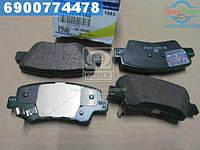 ⭐⭐⭐⭐⭐ Колодки тормозные дисковые задние New Actyon (производство  SsangYong)  48413341A0