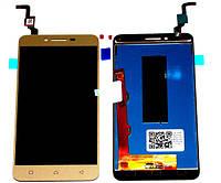 """LCD Lenovo K5, A6020a40 + Touchscreen золотий """"Original"""""""