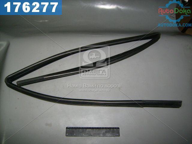 Уплотнитель стекла опускного ВАЗ 2109 задний левый (производство  БРТ)  2109-6203293Р